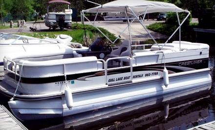 Half-Day Triumph 170 Bass Fishing Boat Rental (up to a $101.53 value) - Gull Lake Marina in Lake Shore