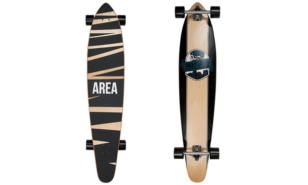 apollo longboard f r skater groupon goods. Black Bedroom Furniture Sets. Home Design Ideas