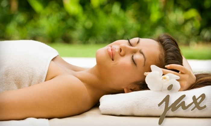 Jax Salon & Spa - Gig Harbor: $69 for One-Hour Elemental Nature Facial Plus One-Hour Elemental Nature Massage at Jax Salon & Spa ($150 Value)