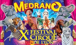 Cirque Medrano: 1 place en tribune d'honneur pour assister à l'une des représentations du cirque Medrano, à 12 € à Lyon