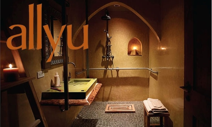Allyu - Multiple Locations: $25 off an hour massage at Allyu Spa