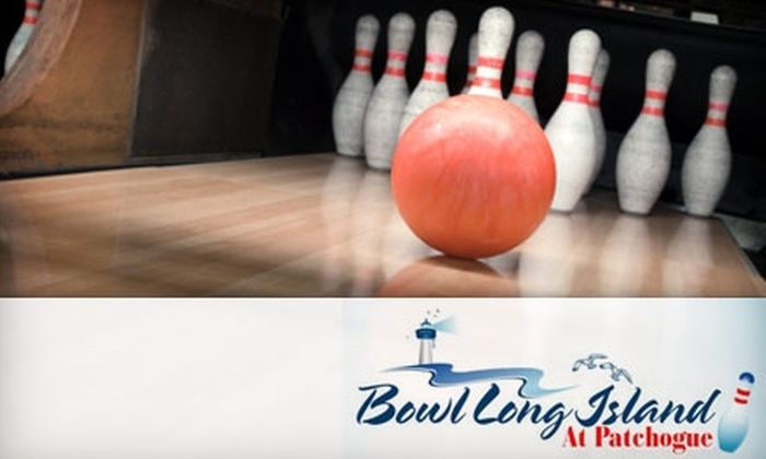 Bowl Long Island - Patchogue: $6 for Three Games of Bowling and Shoe Rental at Bowl Long Island in Patchogue (Up to $19 Value)