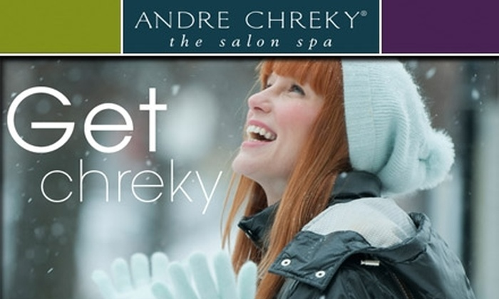 Andre Chreky Salon Spa - Dupont Circle: $25 for $50 Worth of Services at Andre Chreky, the salon spa