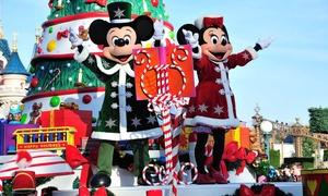 SNCF Voyages: Parc Disneyland® :Aller / Retour en TGV, le samedi 2 décembre, depuis Nantes ou Angersdès 99 € avec SNCF Voyages