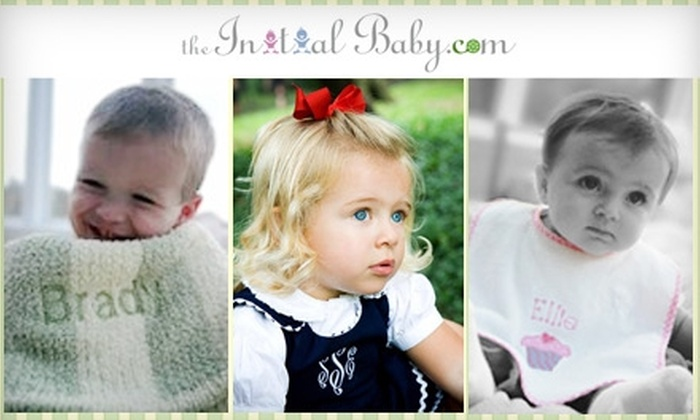 The Initial Baby: $17 for $35 of Personalized Apparel, Gifts, and More from The Initial Baby