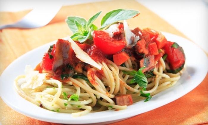 Absolutely Italian Group-Spaghetti Eddie's, Eddie's Pizzeria, Tutti Mangia - Glendora: $12 for $24 Worth of Italian Lunch Fare at Spaghetti Eddie's in Glendora