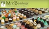 Mrs. Beasley's: $15 for $30 Worth of Holiday Gourmet Gift Baskets, Sweets, and More from Mrs. Beasley's