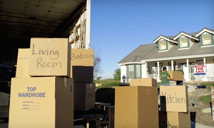 Big League Movers - Downtown Nashville: $90 for Two Hours of Moving Services from Big League Movers ($204 Value)