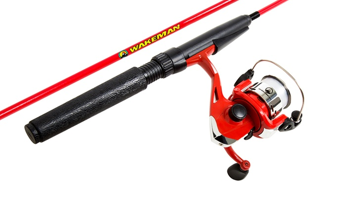 Wakeman Spawn Series Youth Spinning Combo and Tackle Set