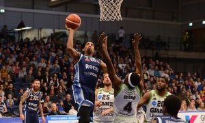 Glasgow Rocks Basketball: Choice of Glasgow Rocks Game Family and Adult Tickets, 22 and 29 April, Emirates Arena, Glasgow (Up to 54% Off)