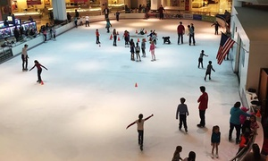 Ice Skating for One or Four at Clearwater Ice Arena & Tampa Bay Skating Academy (Up to 40% Off)
