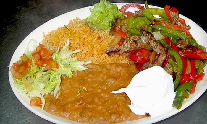 La Chimenea - Multiple Locations: $10 for $20 Worth of Mexican Cuisine at La Chimenea