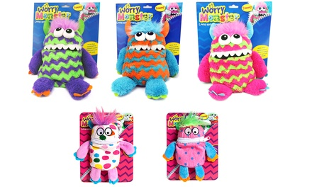 Small or Large Plush Worry Monsters