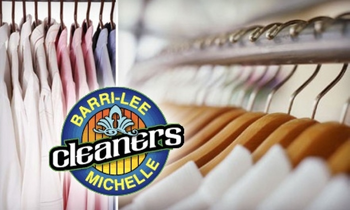 Barri-Lee/Michelle Cleaners - Multiple Locations: $10 for $25 Worth of Dry-Cleaning Services at Barri-Lee/Michelle Cleaners