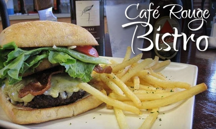 Cafe Rouge Bistro - Sanford: $35 for $75 Worth of European-Style Bistro Fare at Café Rouge Bistro