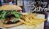 53% Off Bistro Fare at Café Rouge