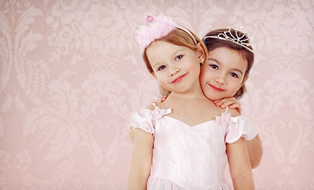 Glamour Playdate for Two or Four Kids at Darlings & Divas of Amityville (Up to 56% Off)