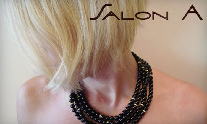 Salon A - Bethesda: $50 for $100 Worth of Hair Services at Salon A in Bethesda