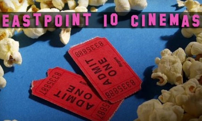 Eastpoint 10 Cinemas - Dundalk: $10 for a Movie Ticket, Medium Popcorn, and 24-Ounce Drink at Eastpoint 10 Cinemas