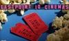 Eastpoint 10 Cinemas - Dundalk: $10 for a Movie Ticket, Medium Popcorn, and 24-Ounce Drink at Eastpoint 10 Cinemas