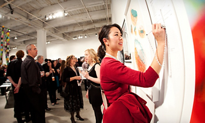 Bemis Center for Contemporary Arts - Downtown: $17 for Admission to 13th Annual Art Auction at Bemis Center for Contemporary Arts (Up to $35 Value)