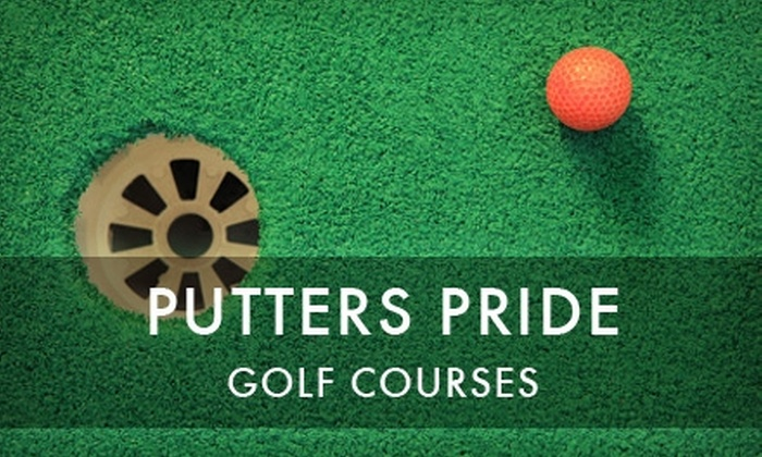 Putter's Pride Mini-Golf  - Friendly Hills: $10 for Unlimited Mini Golf for Two at Putter's Pride Mini-Golf Courses ($20 Value)