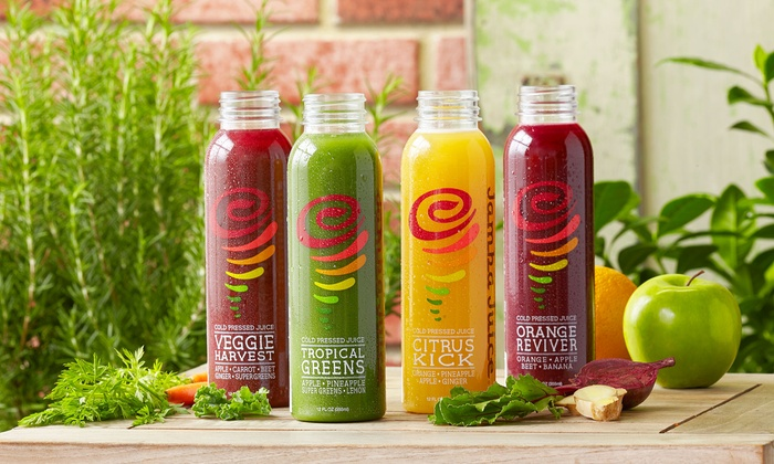 Jamba Juice - Multiple Locations: Three, Six, or Nine Bottles of Cold-Pressed Juice at Jamba Juice (Up to 43% Off)