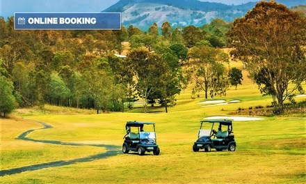 Scenic Rim, QLD: Two-Night Break for Two with Breakfast, Golf and Late Check-Out at The Kooralbyn Valley
