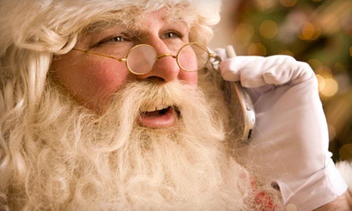 Send Santa Calls: $3 for a Personalized Santa Phone Call from SendSantaCalls.com ($6.99 Value)