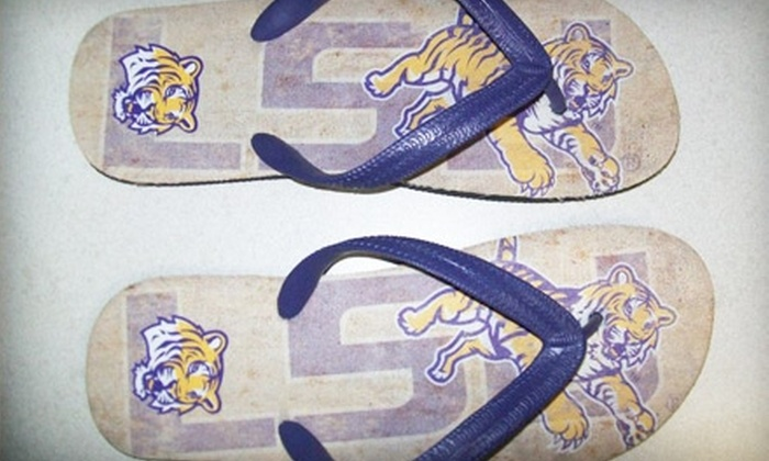 TigerBait Sports Apparel - Prairieville: $15 for $30 Worth of LSU Attire, Custom Trophies, and More at TigerBait Sports Apparel