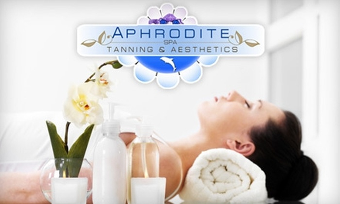 Aphrodite Spa - Multiple Locations: $79 for a Personalized Facial, Full Body Scrub, Wrap, and Anti-Aging Hand Treatment (Up to a $210 value) at Aphrodite Spa