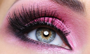 Lashes on Broadway: Half or Full Set of Eyelash Extensions at Lashes on Broadway (55% Off)