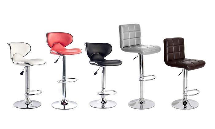 tabourets de bar r tro groupon. Black Bedroom Furniture Sets. Home Design Ideas