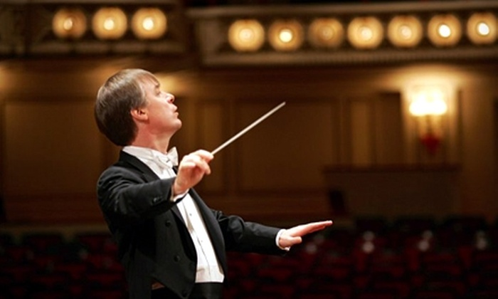 """St. Louis Symphony - St. Louis: One Ticket to the St. Louis Symphony's """"Carmina burana"""" Performance. Three Options Available."""