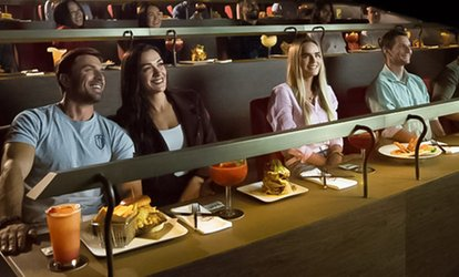 Dine-in Cinema Package with Two-Course Meal and Movie Ticket for One or Two at Reel Cinemas (31% Off)