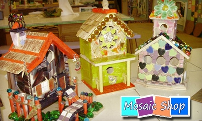 Mosaic Shop - Jackson: $7 for $14 Worth of Mosaic Projects at the Mosaic Shop