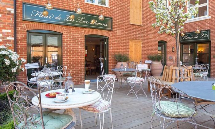 Fleur De Lis Tea Rooms - Christchurch: Afternoon Tea with an Optional Glass of Prosecco for Two or Four at Fleur De Lis Tea Rooms