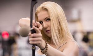 Sports De Combats: Tir ou combat à l'arc, lancer de haches et couteaux ou Rage Cage chez Sports de Combats (jusqu'à 53 % de rabais)