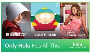 Hulu 45-Day Free Trial at Hulu, plus 6.0% Cash Back from Ebates.