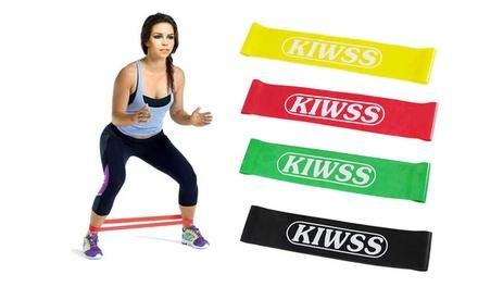 1 o 2 packs de bandas de resistencia fitness