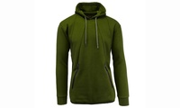 Galaxy by Harvic Men's Marled Tech Fleece Hoodie (Multiple Colors)