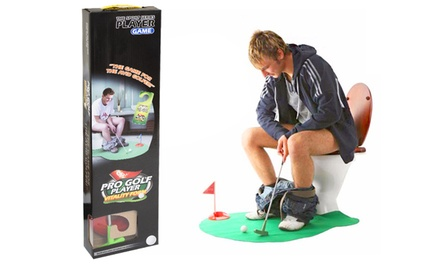 One or Two SevenPiece Potty Golf Sets with Putter
