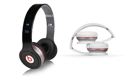 groupon daily deal - Beats by Dre Wireless Bluetooth On-Ear Headphones in Black or White.