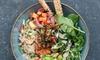 Numas Virako Health And Food GmbH - Berlin: 1x, 2x oder 3x Lunch Bowl mit einem 0,3 l Smoothie nach Wahl bei Numas Virako Health And Food GmbH (41% sparen*)