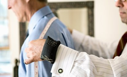 image for Three Custom Shirts or One Full Bespoke Suit at Peter Parvez Custom Tailor (Up to 71% Off)