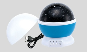 Dual Power Starry Night Projector Lamp
