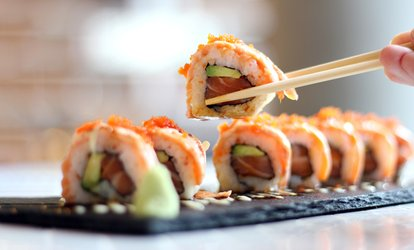 image for $50 for Sushi Dinner for Two at Sushiya Riverside ($70 Value)