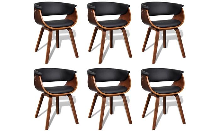 Moderne eetkamerstoelen groupon goods for Moderne eetkamerstoelen