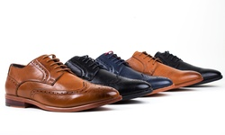 Harrison Mens Derby Dress Shoes (Multiple Colors)