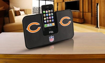iHip NFL Portable iDock Speaker System. Multiple Teams Available. Free Returns.